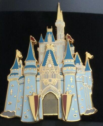 Disney Pins Castle Pin WDW Walt Disney World Cast 3D Jumbo Pin LE RARE - $299.99