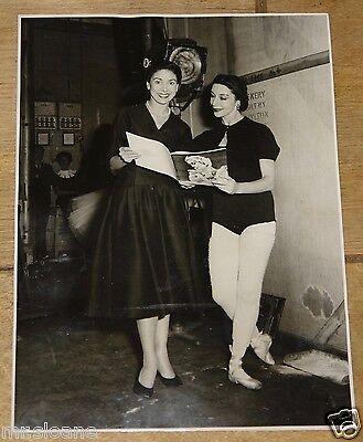 MARGOT FONTEYN BEAUTIFUL VINTAGE ORIGINAL PAUL WILSON 1953 PRESS PHOTOGRAPH