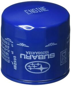 SUBARU 15208AA12A Oil Filter For: Baja Forester Impreza Outback WRX STI Legacy