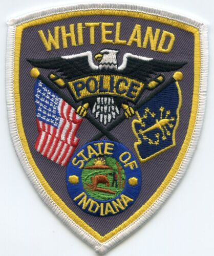 WHITELAND INDIANA IN POLICE PATCH