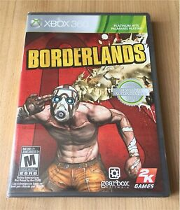 Borderlands Xbox 360 Video Game Brand New Factory Sealed