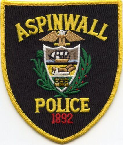 ASPINWALL PENNSYLVANIA POLICE PATCH
