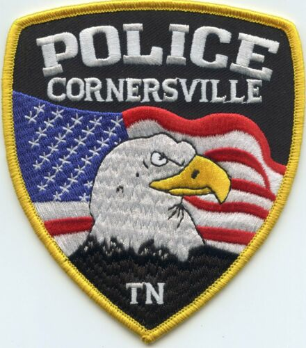 CORNERSVILLE TENNESSEE TN POLICE PATCH