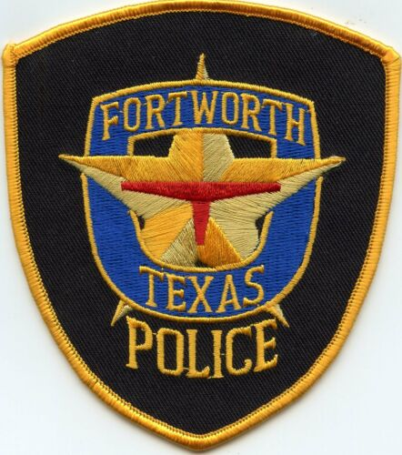 FORT WORTH TEXAS TX POLICE PATCH