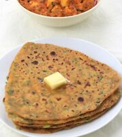 Fresh homemade rotis, teplas and more...