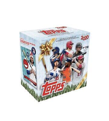 2020 Topps ⚾️ Holiday Box Sealed MLB Baseball IN HAND *FAST SHIP*