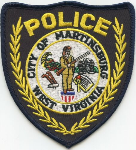 MARTINSBURG WEST VIRGINIA WV POLICE PATCH