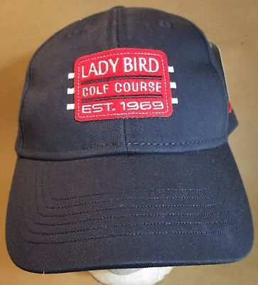 Lady Bird Golf Course Hat Ball Cap Texas USA Embroidery Unisex New