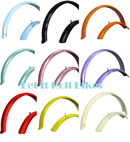 """Bicycle Fender Set for 26"""" Beach Cruiser Bikes===16 Colors Available"""
