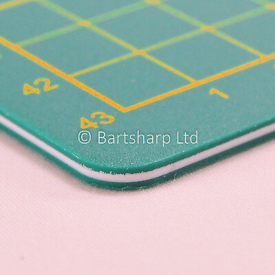 A2 (45 x 60 CM) 3mm 3 BONDED LAYERS NON SLIP CUTTING MAT SELF-HEALING NEW
