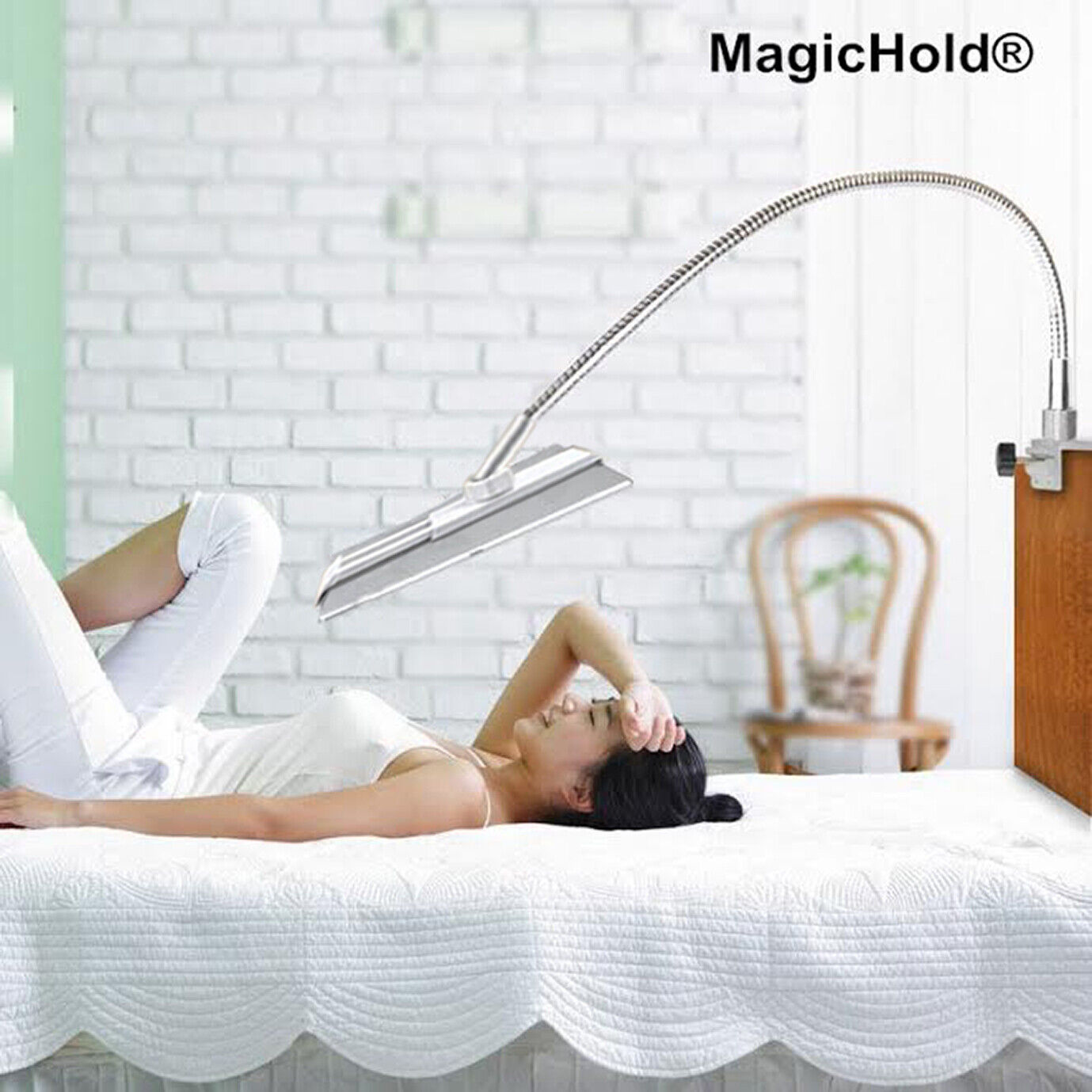 360º Rotating Bed Tablet Mount Holder Stand Fr Ipad & All T