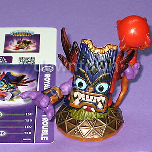 ROYAL-DOUBLE-TROUBLE-Skylanders-Giants-loose-NEW-figure-card-code-ships-FAST