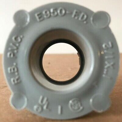 CANTEX 1-inch x 1/2-inch PVC Reducer Bushing - E950-FD - NEW 1/2 Pvc Reducer Bushing