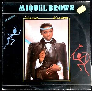 Miquel-Brown-He-039-s-A-Saint-He-039-s-A-Sinner-Spain-Maxi-Single-Carrere-12-034-1983