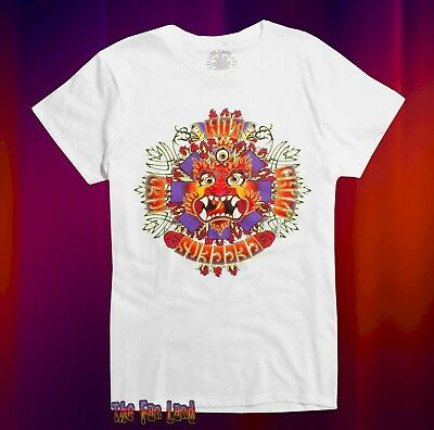 Red Hot Chile (New Red Hot Chili Peppers Dragon Neon Vintage Concert Mens T-Shirt)