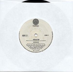 GENESIS-ABACAB-7-45-VINYL-RECORD-1981