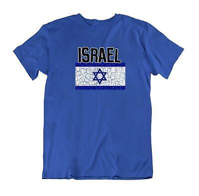 Israel Flag T-shirt - Flag T-Shirt Israel Fashion Country Souvenir Gift Tee Pride logo