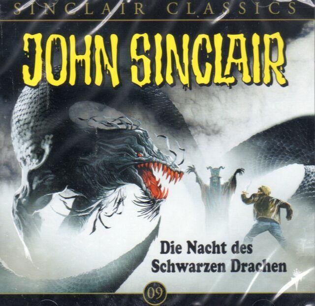 JOHN SINCLAIR CLASSICS TEIL 9 Die Nacht des Schwarzen Drachen AUDIO CD - NEU OVP