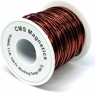 16 Awg Magnet Wire Enameled One Pound W Working Temperature 356 F