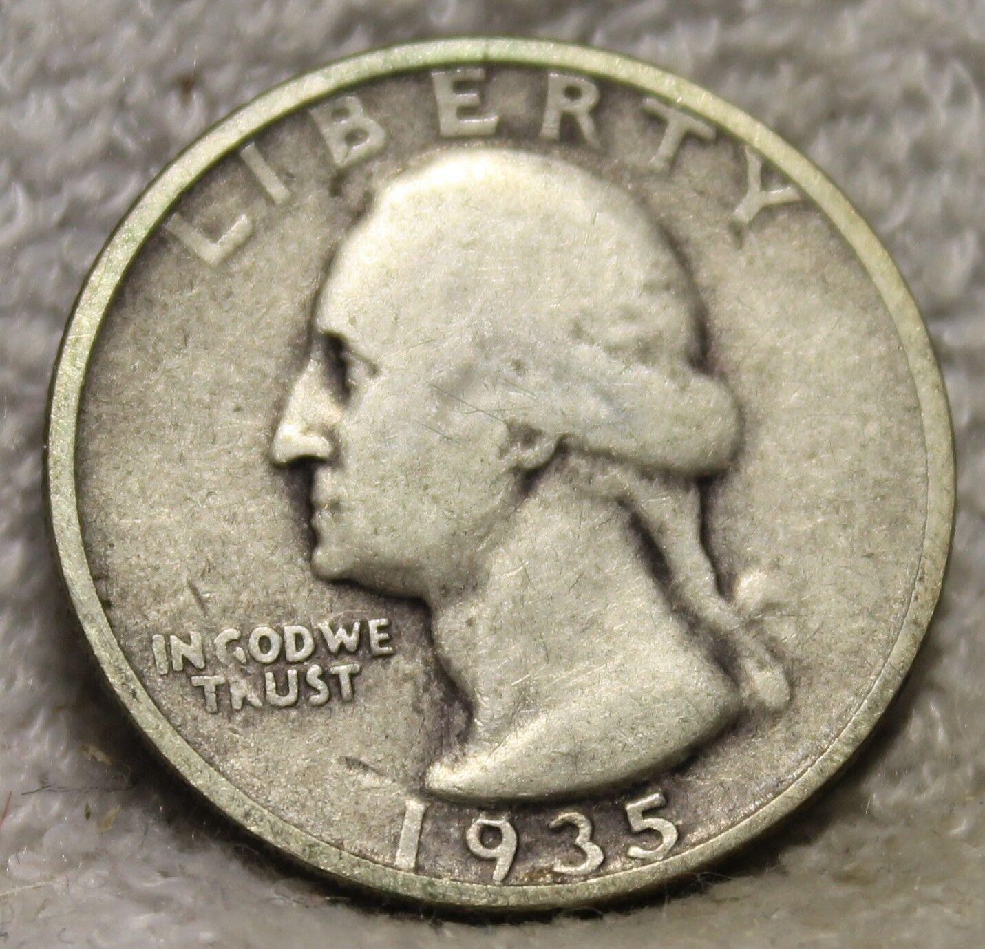 1935D Washington Quarter - $10.95