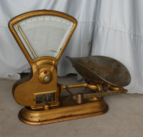 Large Antique Toledo Computing Scale – 1906 – General Store in Bloomfield, Iowa