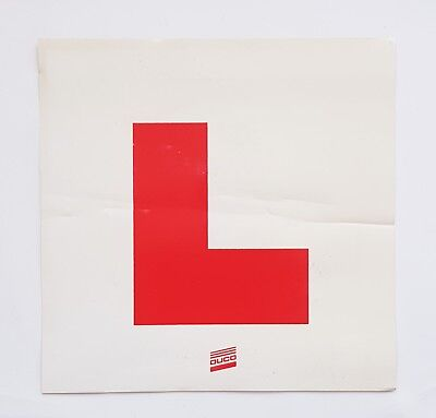 3 x Duco Learner Driver Learning L Magnetic Car Plates