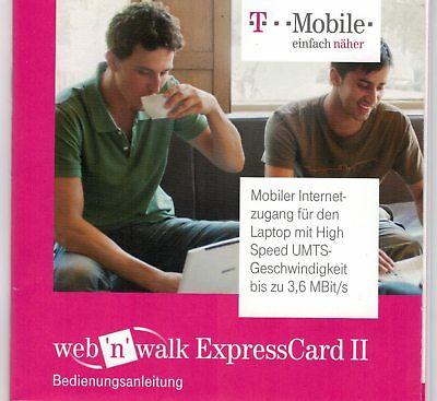 web'n walk expressCard von T-mobile