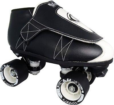 Pair Roller Skates - VNLA Tuxedos Vanilla Junior Roller Skates Pair Size 3-12 NEW