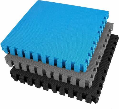 "FlooringInc 1"" or 3/8"" Thick Fitness Foam Exercise, Playroom, Multipurpose Tiles"