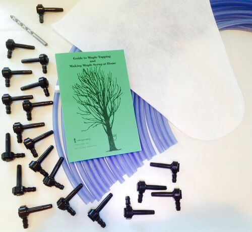 20 Tree Maple Tapping Starter Kit *Free Shipping* Sap Collecting, Syrup Making