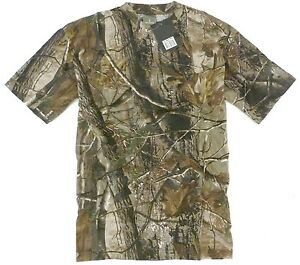 TREE-CAMO-STEALTH-T-SHIRT-mens-100-cotton-tee-M-XXL-hunting-fishing-camping