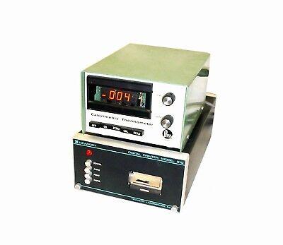 Parr Yellow Springs 372 Calorimetric Thermometer Wnewport 810 Digital Printer