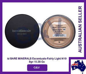 id bare minerals escentuals-fairly light-N10-8gr/0.28 Oz.