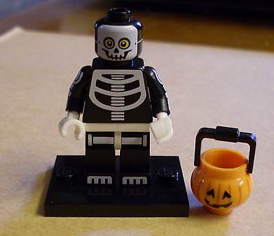 Lego Figur - Skeleton Guy - Skelett - Knochenmann - Halloween - Series 14 Neu ()