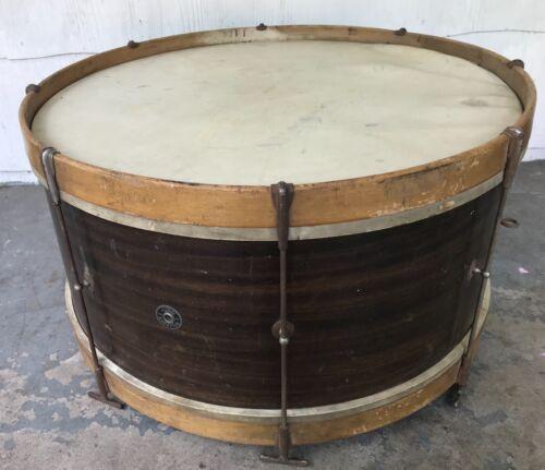 "1940s Leedy Reliance Bass Drum. 26"" x 12"". Needs New Heads."