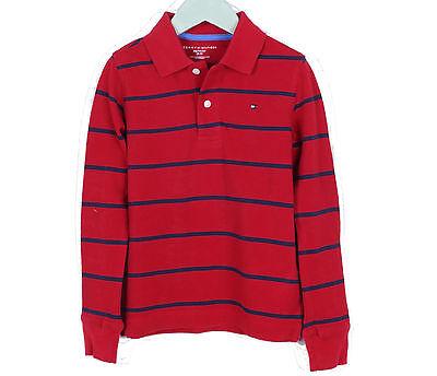 Tommy Hilfiger Children Little Boy Baby Toddler Long Sleeve Pique Polo Shirt