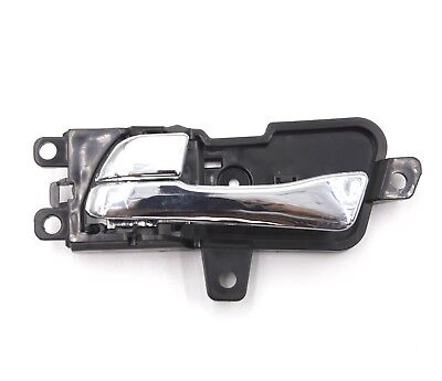 Interior Chrome Door Handle Front or Rear Left Side for Hyundai Sonata 2011 2014
