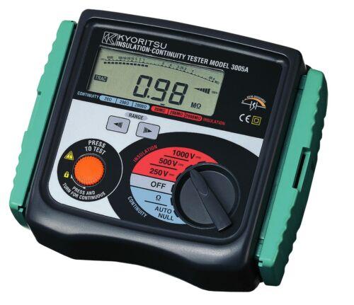 KYORITSU 3005A (Digital Insulation / Continuity Testers)