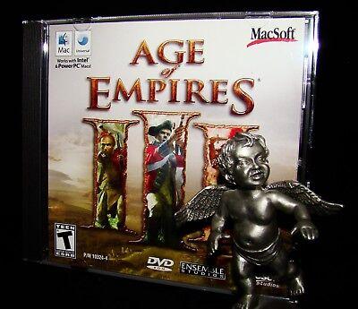 Age Of Empires Iii 3 Mac Macintosh W Update Osx High Sierra Compatible