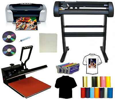 15x15 Heat Press 28 24 Laser Vinyl Cutter Plotterprinter Refills Putshirt