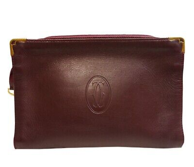 Authentic Cartier Mast line second bag PVC #430