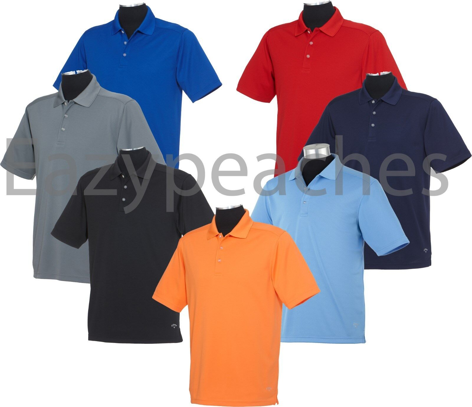 Callaway Golf Mens TALL LT-2XLT 3XLT 4XLT Wicking Core dri-fit ...