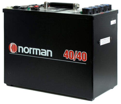 Norman 40/40 Power Pack - 4000 Watt-Seconds - with Four Channels