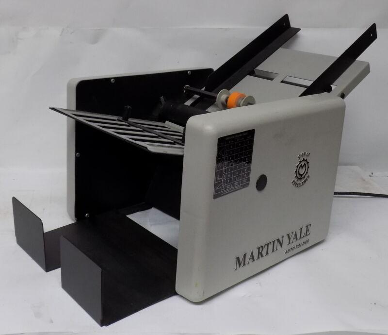 Martin Yale Auto Folder / Folding Machine Model CV7