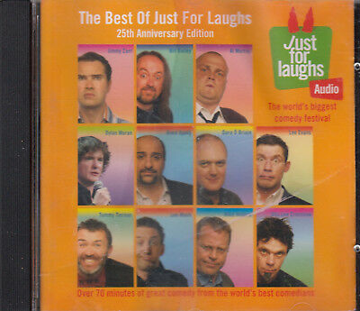 Best of Just for Laughs 25th Anniversary Edition CD Audio Comedy Carr Evans