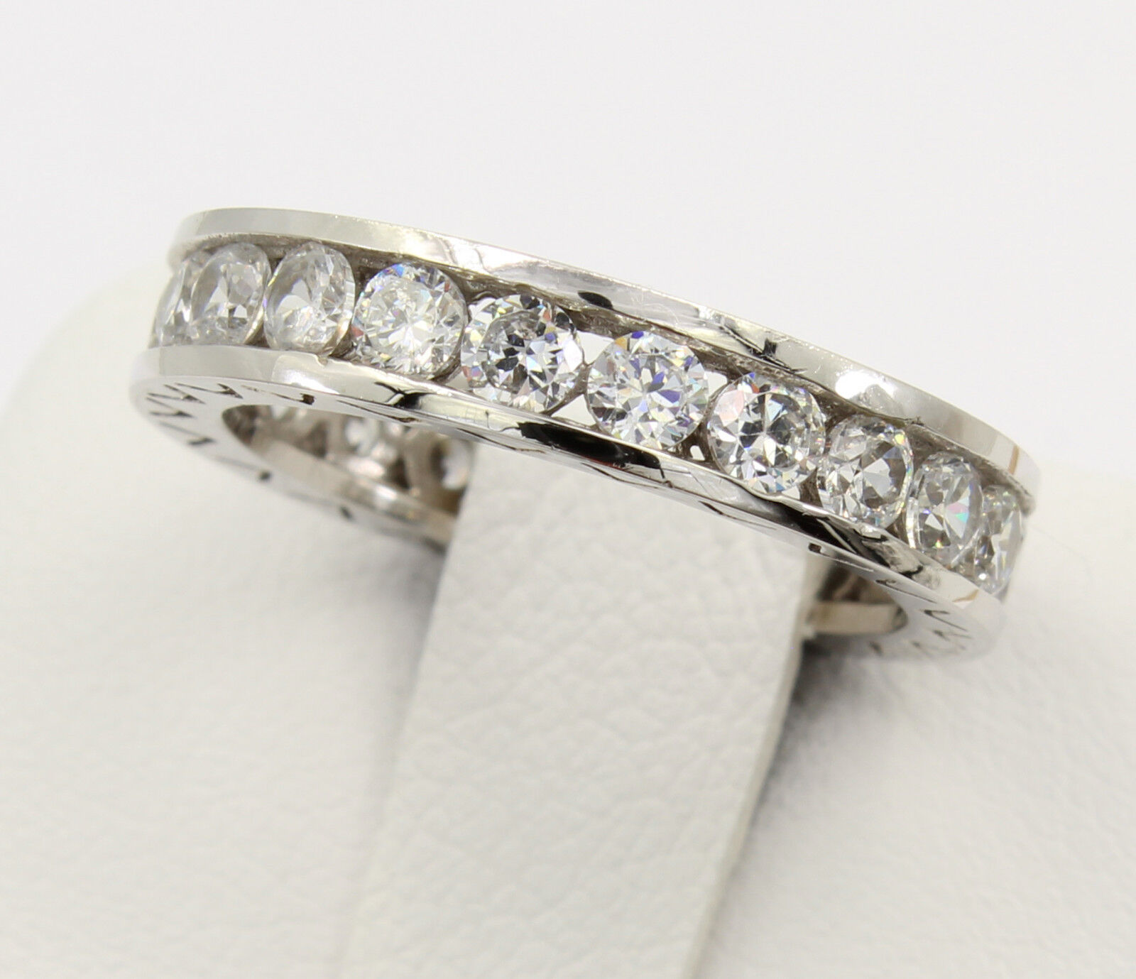 rings band wedding diamond com bands on white ideas gold costco anniversary atdisability of