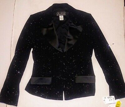Formale Tuxedo Jacket (Alex Evenings Ladies Formal Glitter Embellished Tuxedo Jacket Brand New Size...)