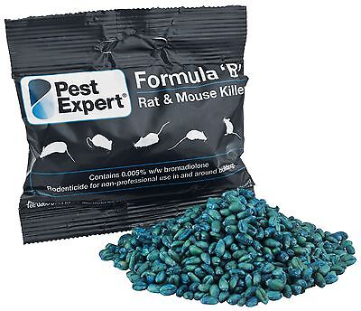 Pest Expert Formula 'B' Rat Killer Poison Sachets 10kg (Professional Strength)
