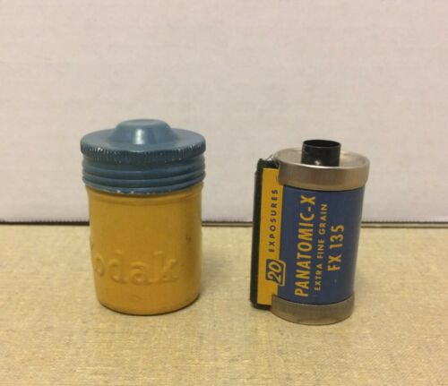 VINTAGE Kodak Panatomic-X Film FX 135-20 Extra Fine Grain Black and White Film
