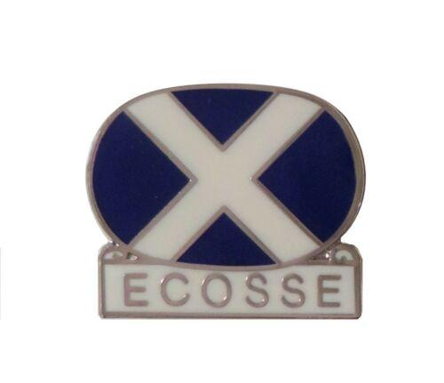 Scotland Saltire Ecosse Pin Badge